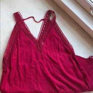 ASTR Pink Sun Dress